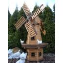 Wiatrak ogrodowy drewniany  WKB-160cm